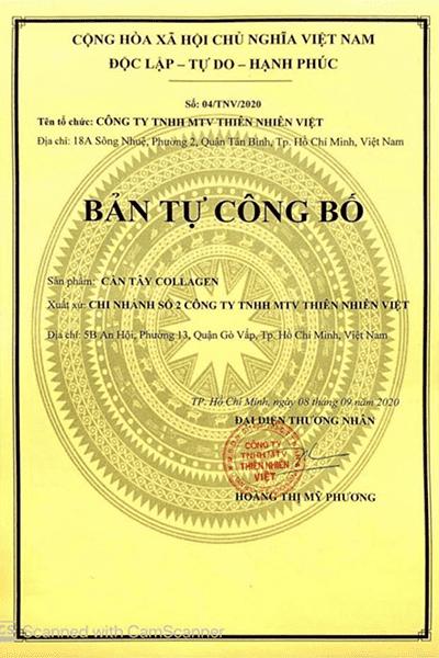 giấy chứng nhận cà phê xanh