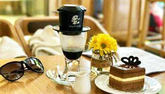 cafe trung nguyên hàng xanh