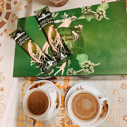 bữa sáng có cà phê sâm