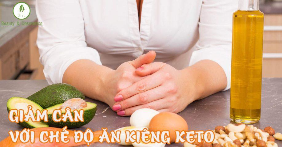 giảm cân với chế độ ăn kiêng keto