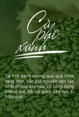 lợi ích của cà phê xanh