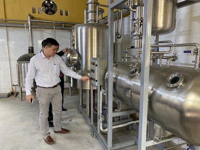 quy trình sản xuất cà phê xanh
