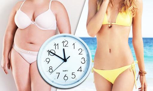 quá trình giảm cân
