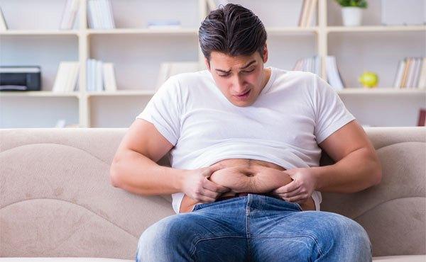 khó giảm mỡ bụng