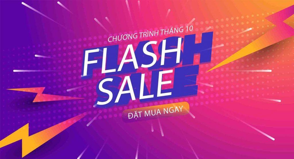 flash sales tháng 10
